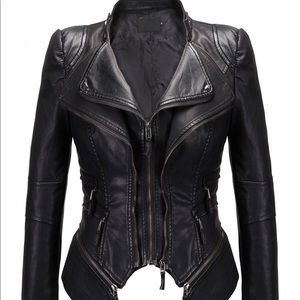 Jackets & Blazers - NWT women's biker jacket